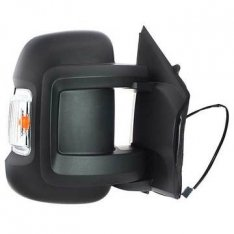 Door Mirror Short Arm – Electric/Heated With Indicator O/S – Boxer, Ducato, Relay