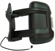Door Mirror Long Arm – Electric/Heated With Indicator N/S – Boxer, Ducato, Relay