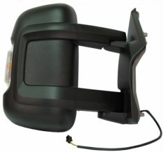 Door Mirror Long Arm – Electric/Heated With Indicator O/S – Boxer, Ducato, Relay